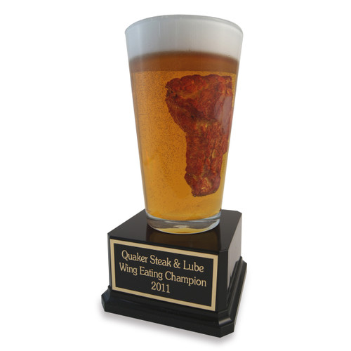 Chicken Wing and Beer Trophy