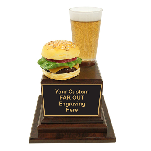 Burger and Beer Trophy