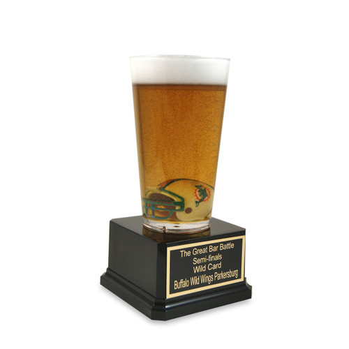 Football Team Fan Beer Trophy