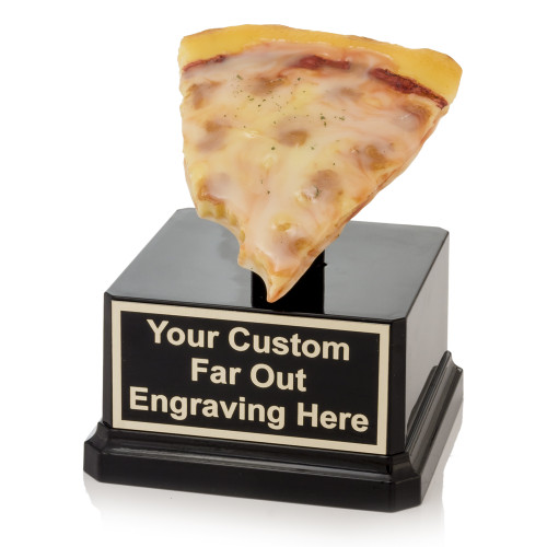 Bites Out of Pizza Slice Trophy