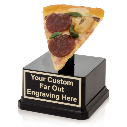 Loaded Pizza Slice Trophy
