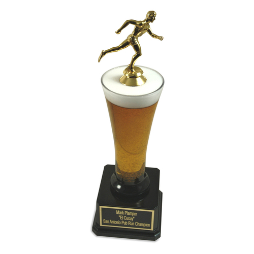 Runner Beer Trophy