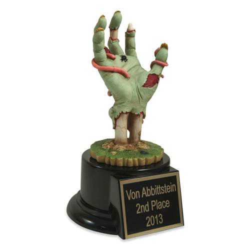 Zombie Hand Trophy