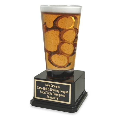 Brass Knuckles Beer Trophy