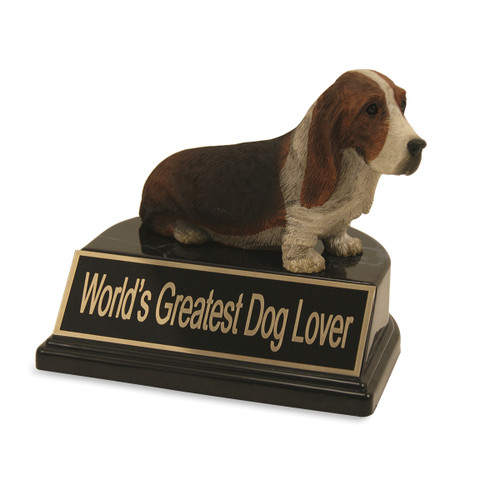 Basset Hound Dog Trophy
