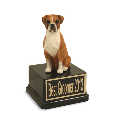Boxer Dog Trophy