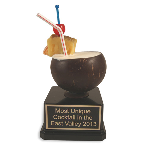 Coconut Cocktail Trophy