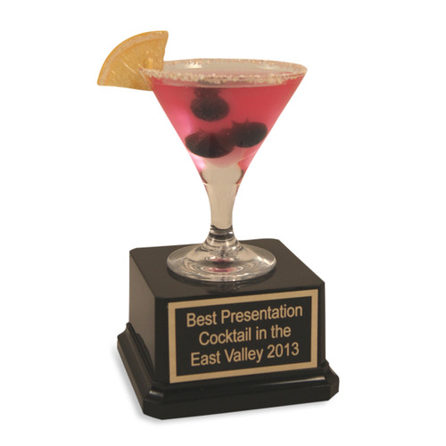 Blueberry Cosmo Mini Cocktail