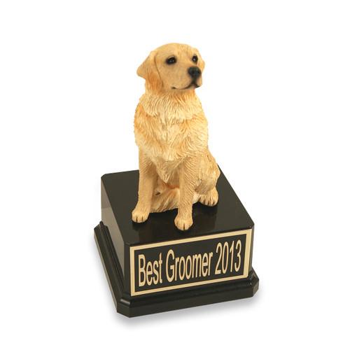 Golden Retriever Dog Trophy