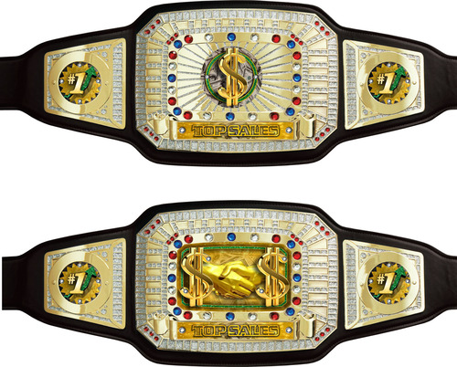 Top Sales Championship Belt