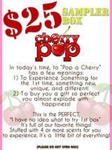 Cherry POP! Sampler Box