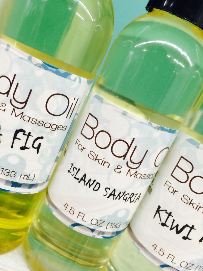 Fresh & Clean Luxury Body Oil