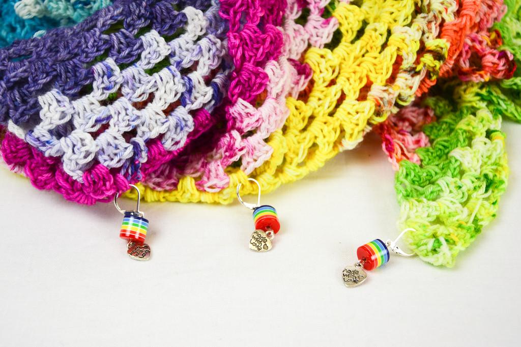 Rainbow Stitch Markers