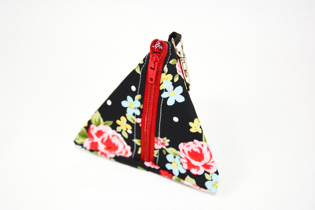 Black Rose  Notion Pouch