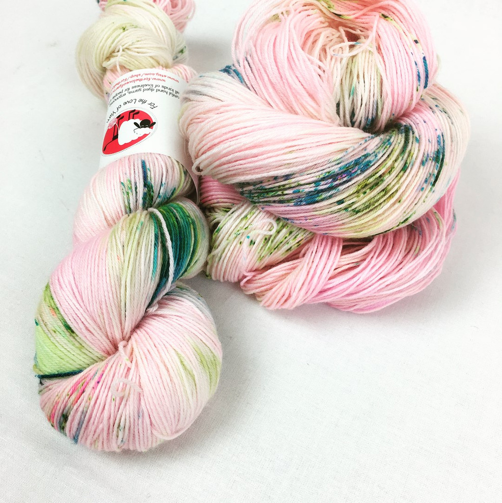 Speckle 'n' Splash Yarn club