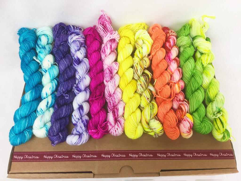 Rainbow Splash Mini collection