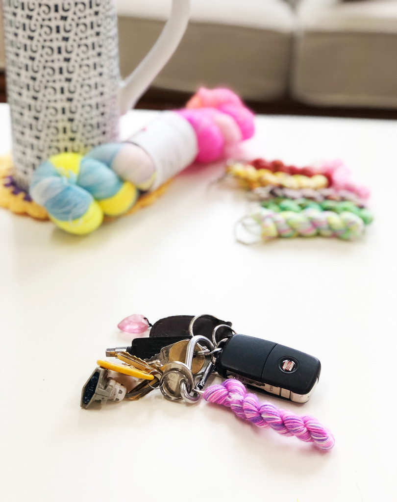 Mini Skein Keyring