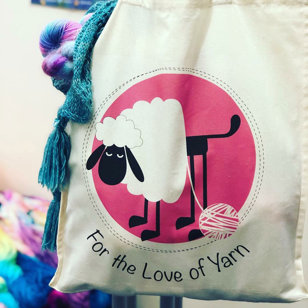 FTLOY heavy cotton tote bag