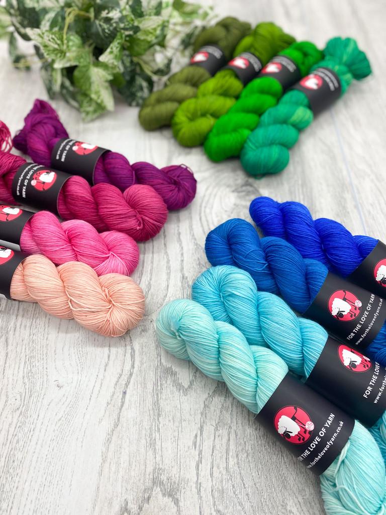 4 skein colour packs