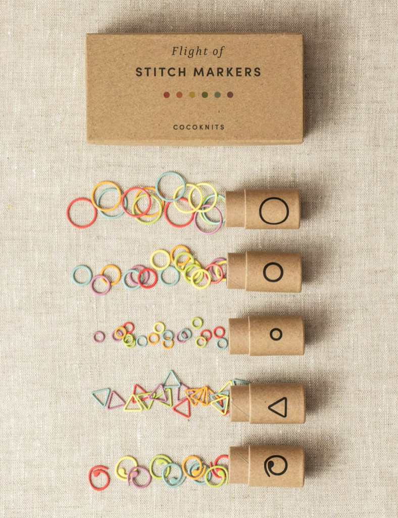 Cocoknits Flight of Stitch Markers