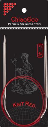 ChiaoGoo RED Lace Needles 32''