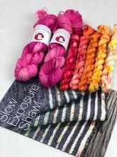 Slow exposure shawl kit