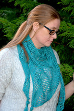 Showcase singles shawl pattern