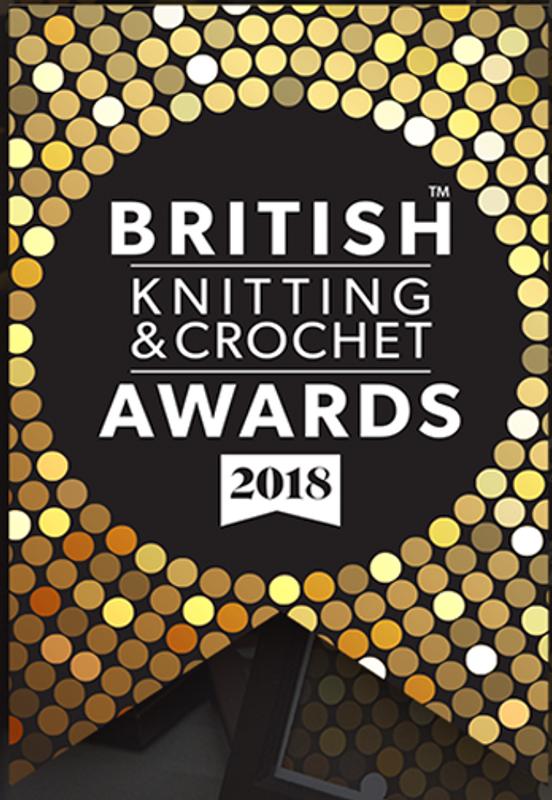 OMG British knitting and crochet award nomination