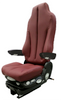 GraMag Burgundy Syn Leather Premium Seat