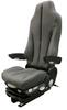 GraMag Dark Grey Syn Leather Premium Seat