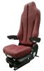 GraMag Burgundy Syn Leather Standard Seat