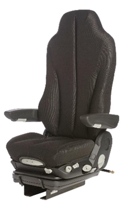 GraMag Black Cloth Premium Seat