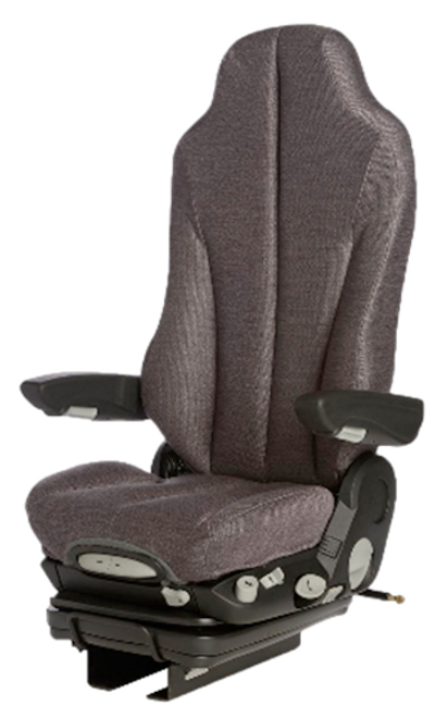 GraMag Dark Grey Cloth Premium Seat