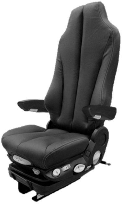 GraMag Black Syn Leather Premium Seat