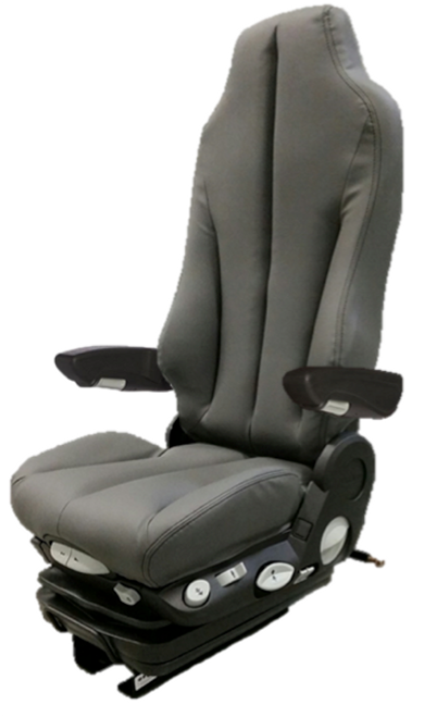 GraMag Dark Grey Syn Leather Premium Seat