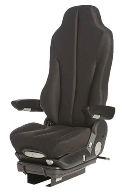 GraMag Black Cloth Standard Seat