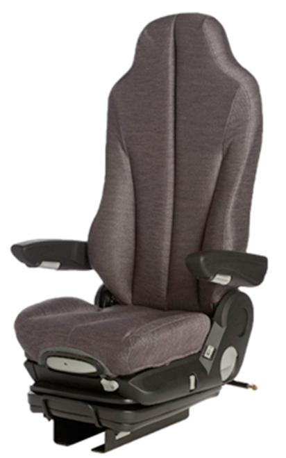 GraMag Dark Grey Cloth Standard Seat