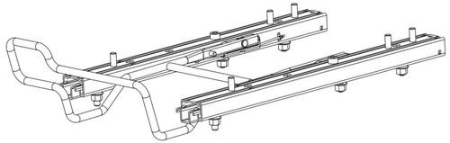 210mm Track & Handle Asm Service Kit