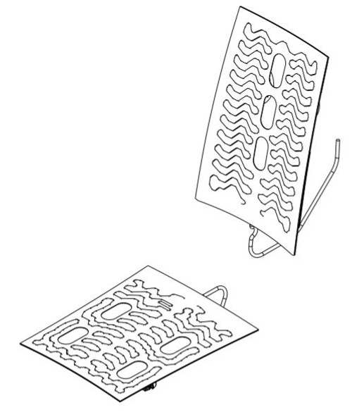 Vent / Heat Back & Cushion Service Kit AFT-11339