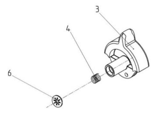 Dampener Adjustment Handle Service Kit AFT-11882