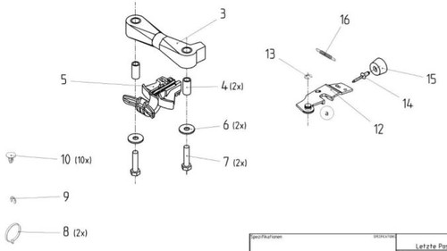 Fore and Aft Isolator Service Kit AFT-11883