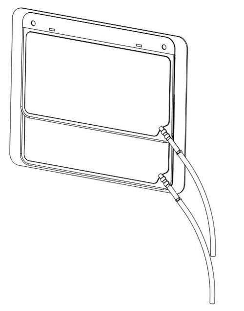 Lumbar Bag & Hoses (Double) Service Kit AFT-11994