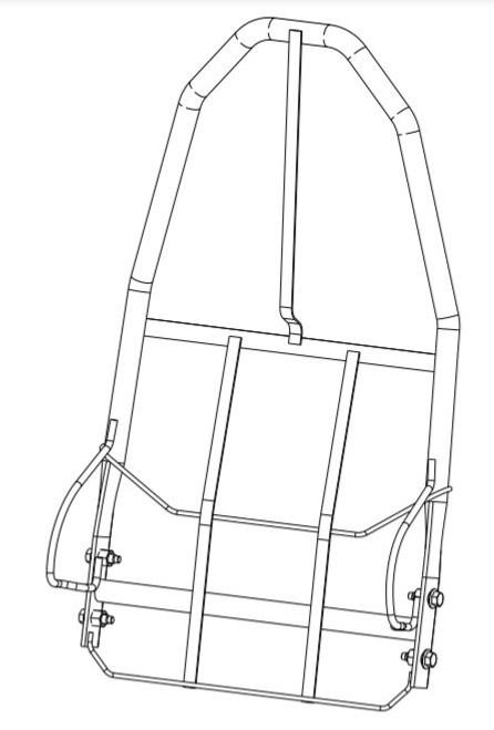 Back Frame - High Back Service KitAFT-12127