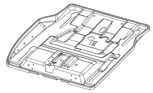 Cushion Pan Service Kit AFT-10322