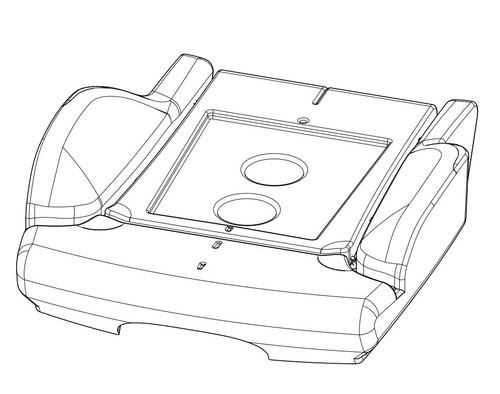 Cushion foam for Heat/Vent Service Kit