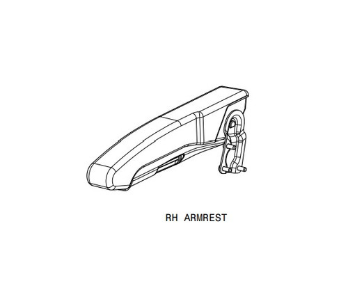 Right Armrest AFT-5111VY