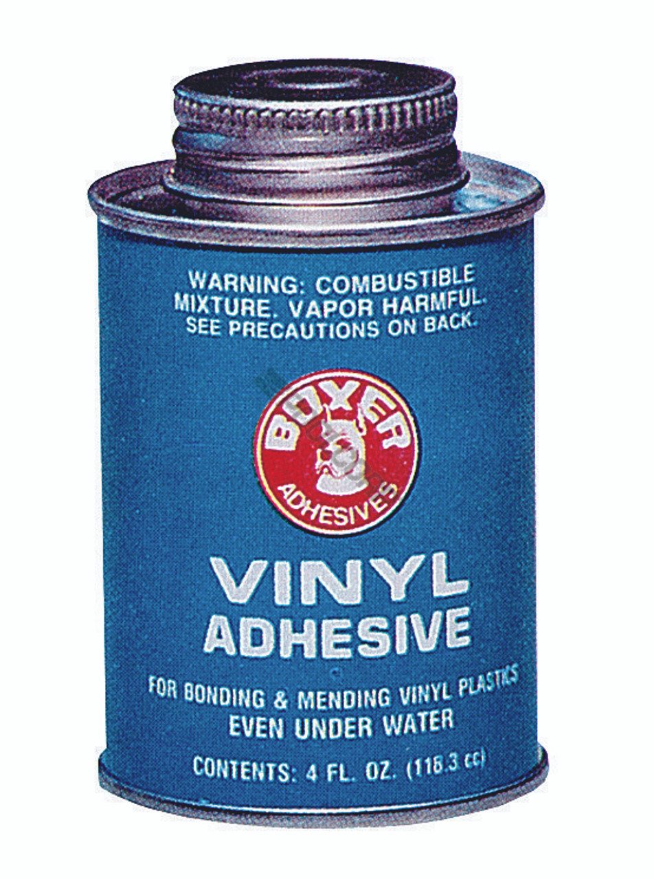 Union Laboratories Boxer Vinyl Adhesive for Swimming Pools, 4 oz. #104  (BOX-60-5083)   E-Z Test Pool Supplies - Trusted Since 1989