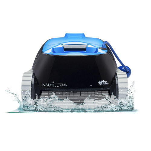 Dolphin Nautilus Robotic Pool Cleaner With CleverClean (99996113-US)