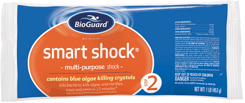 BioGuard Smart Shock (1 Bag, 1 lb.) (22947BIO)