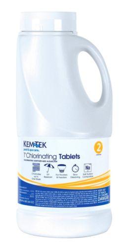 Kem-Tek BioLab 4 lbs 1 in. Chlorinating Tablets, 26439047612 (KTK-50-0017)